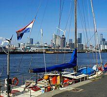 Melbourne by Yacht by Marie Watt
