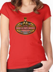 Lo pan's mansion  Women's Fitted Scoop T-Shirt