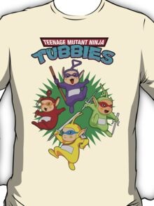 TEENAGE MUTANT NINJA TUBBIES T-Shirt