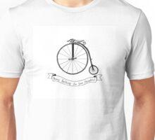 Penny Farthing Illustration Unisex T-Shirt