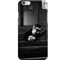 She cries, he laughs iPhone Case/Skin