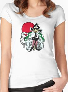 Fu manchu Women's Fitted Scoop T-Shirt