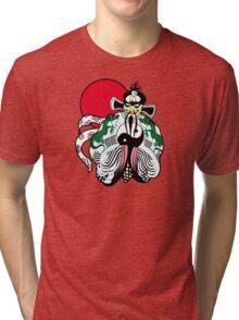 Fu manchu Tri-blend T-Shirt