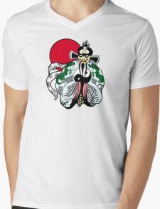 Fu manchu Mens V-Neck T-Shirt