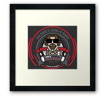 The Dude's Bowl-o-Rama Framed Print