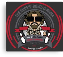 The Dude's Bowl-o-Rama Canvas Print