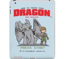 HOW TO TRAIN YOUR DRAGON 8BIT VERSION iPad Case/Skin