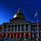 Massachusetts State House by LudaNayvelt