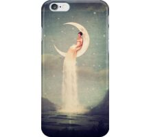 Moon River Lady iPhone Case/Skin