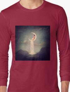 Moon River Lady Long Sleeve T-Shirt