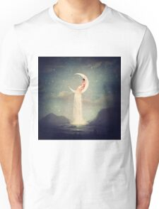 Moon River Lady Unisex T-Shirt