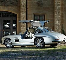 Mercedes 300 SL Gullwing by Stefan Bau