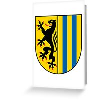 Coat of arms of Leipzig Greeting Card