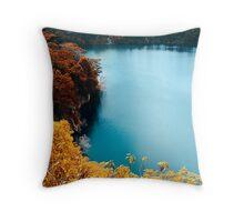 Digital Autumn Throw Pillow