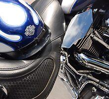 Motorcycle Still Life by John Schneider