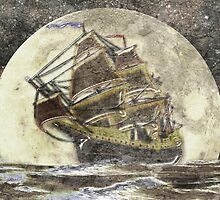 A Ghost Ship 2 by Dennis Melling