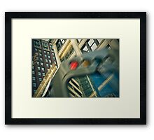 Six Minutes to Circle Framed Print