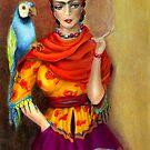 Selma Hayek as Frida by Alma Lee