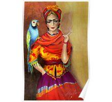 Selma Hayek as Frida Poster