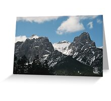 High in the Hills Greeting Card