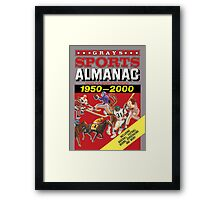Grays Sports Almanac Complete Sports Statistics 1950-2000 Framed Print