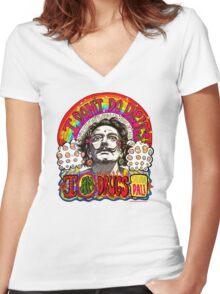 I don't do drugs, I am drugs. Women's Fitted V-Neck T-Shirt