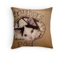 Crushers Pad Throw Pillow