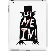 Let Me In - The Babadook [Red] iPad Case/Skin