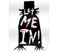 Let Me In - The Babadook [Red] Poster