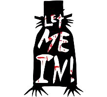 Let Me In - The Babadook [Red] Photographic Print