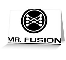 Mr. Fusion Home Energy Reactor Greeting Card