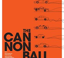 The Cannonball Run by cottoncreative