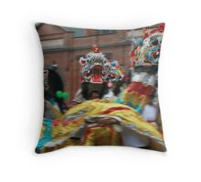 Chinese Dragon Dance II Throw Pillow