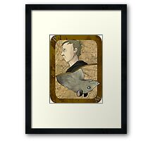 Peter Pettigrew Playing Card Framed Print