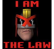 I am the Law. Photographic Print