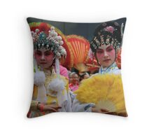 Chinese New Year 2007 - Girls IV Throw Pillow