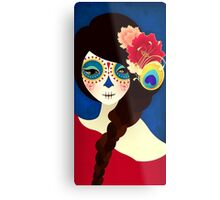 Muertita: Candy Metal Print