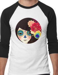 Muertita: Candy Men's Baseball ¾ T-Shirt