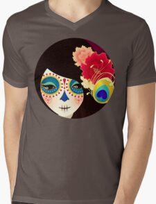 Muertita: Candy Mens V-Neck T-Shirt