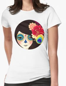 Muertita: Candy Womens Fitted T-Shirt