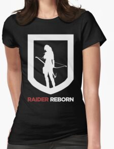 Reborn Womens Fitted T-Shirt