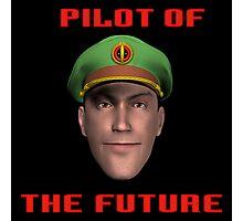 Pilot of the Future. Photographic Print