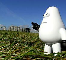 Yod at Stonehenge by smokebelch
