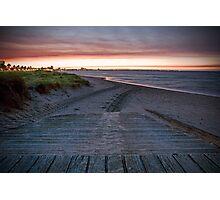 Port Melbourne Beach Photographic Print
