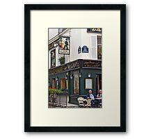 La Bonne Franquette Framed Print