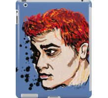 Rainbow Haired Genius iPad Case/Skin