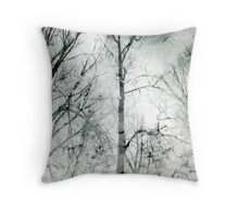 bare trees  #1 Throw Pillow