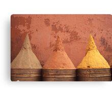 Spice cones Canvas Print