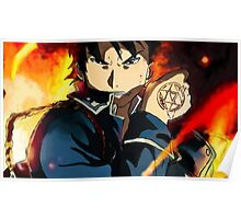 Roy Mustang Poster