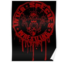 Bleeding Logo Poster